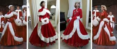 white christmas dresses for the fantasy of lights custom style