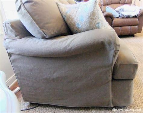 denim sofa cover friendly denim slipcover the slipcover maker