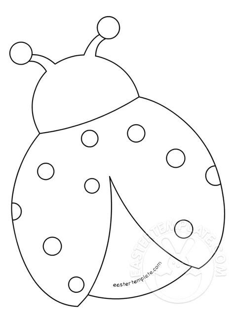ladybug template felt ladybug template printable easter template