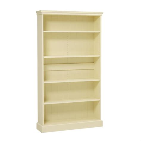 Bourton Painted Extra Wide Bookcase (6ft) (m452) With Free