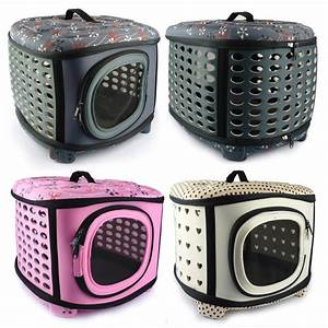 2017 foldable small dog carrier bag breathable pet travel With cheap dog travel crates