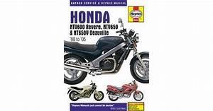 Haynes Honda Ntv600 Revere  Ntv650  U0026 Ntv650v Deauville  U0026 39 88