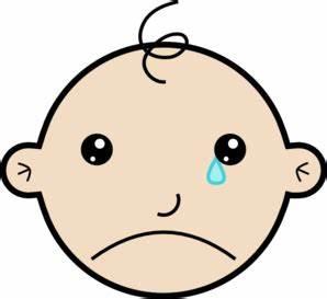 Baby Crying Clip Art at Clker.com - vector clip art online ...