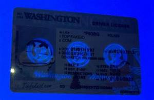 Washington Id - Buy Scannable Fake Id