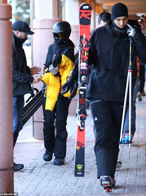 Stormi hits the slopes again! Kylie Jenner's daughter ...