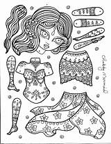 Paper Doll Belly Dancer Ballerina Dolls Instant Artist Coloring Printable Jointed Chubbymermaid Colouring Toys Kleinkind Articulated Junge Puppets Mermaid Basteln sketch template