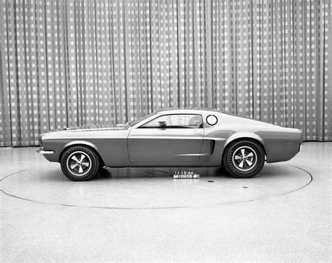 1966 Ford Mustang Mach 1 Concept Car Body Design