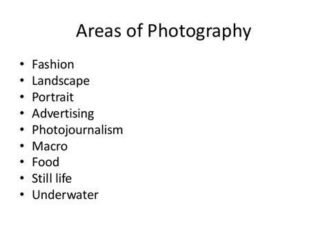 Uses Of Photography In The Media Industry