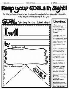 goal setting banner smart goals middle school goals by With smart goal worksheet sample