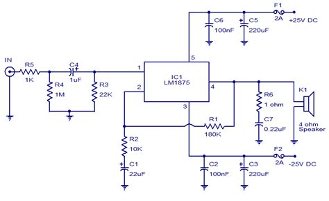 Audio Amplifier Using Todays Circuits
