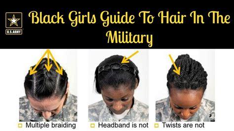 black girls guide  hair   military youtube