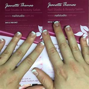 Acrylic Nails On Very Short Nail Biters Nails  We Used A