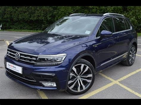 vw tiguan    tdi ps atlantic blue