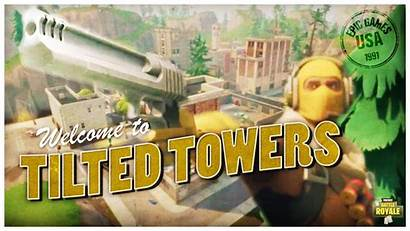 Fortnite Tilted Towers Battle Royale Wallpapers Cool