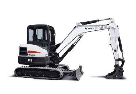 bobcat  rental rubber track mini excavator wwwbobcatrentalca