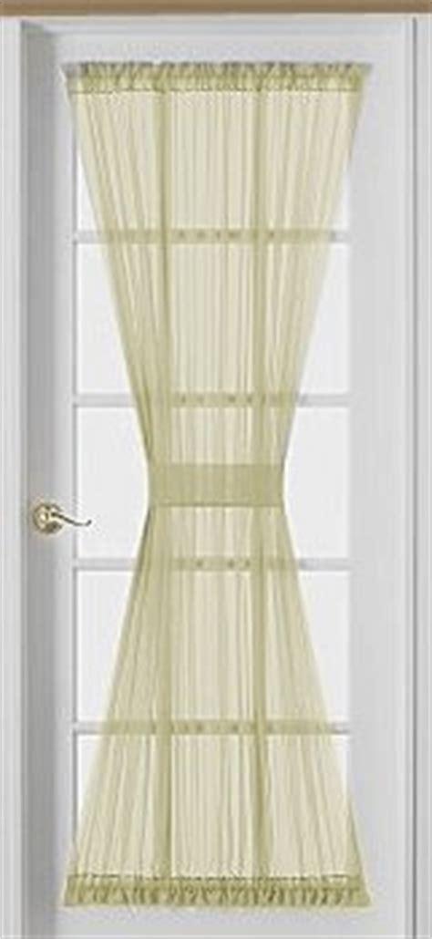 72 inch sheer voile door panel curtain beige