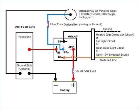 Relay Wiring Diagram Pin Ladder Logic