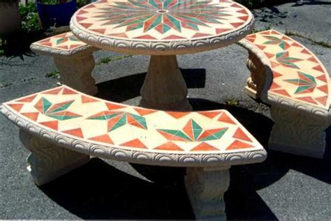 concrete mosaic patio furniture for sale furniture from