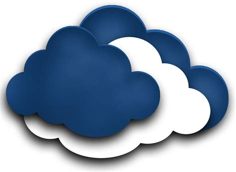 Clouds clipart cloud computing - Pencil and in color