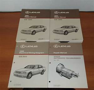 1995 Lexus Gs300 Repair Manual Electrical Wiring Diagram