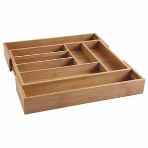 Couvert En Bambou : range couverts extensible en bambou boisnature 39 l ~ Teatrodelosmanantiales.com Idées de Décoration