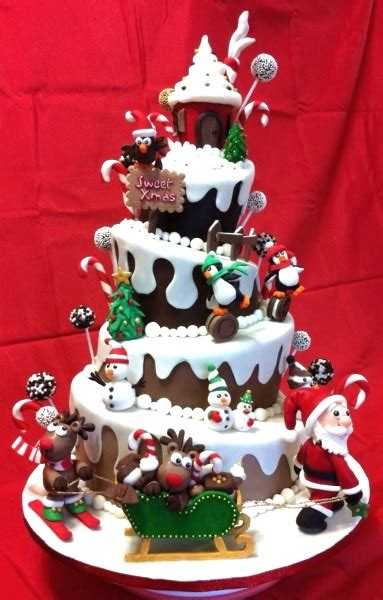 beautiful christmas cakes 55 tempting christmas cake designs pink lover