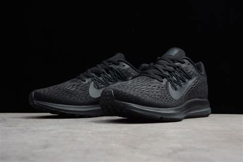 Men's And Women's Nike Zoom Winflo 5 Black/anthracite