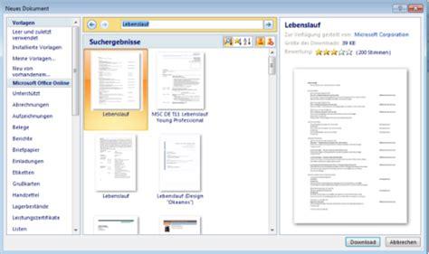 Lebenslauf Erstellen Vorlage by Lebenslauf Dokument Lebenslauf Beispiel