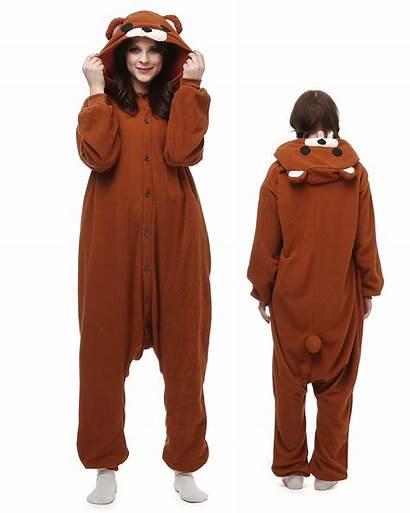 Onesie Kigurumi Rilakkuma Bear Animal Pajamas Onesies