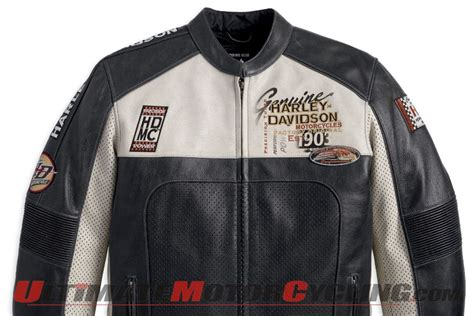 Harley Releases Men's Regulator Perforated Leather Jacket