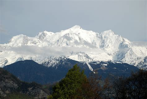 massif du mont blanc depuis sallanches haute savoie flickr