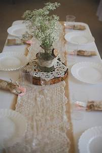 55 chic rustic burlap and lace wedding ideas deer pearl for Burlap and lace wedding decorations