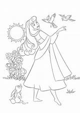 Sleeping Coloring Beauty Pages Disney Princess Printable Aurora Cartoon Adult Bestcoloringpagesforkids Sheets Warm Sun Fairy Animal Summer Maleficent Results sketch template