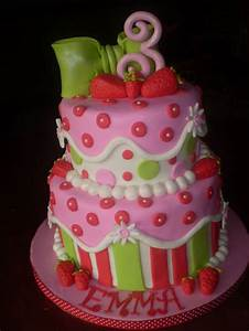 """Strawberry Shortcake"" Bday - ""Strawberry Shortcake ..."