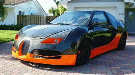 Nachrichten senden und empfangen kannst. Florida Man Will Sell You a 1993 Honda Civic-Based Bugatti Veyron Replica for $4500
