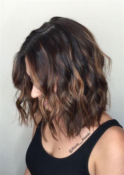 balayage  short dark hair instagram hairbyamanda