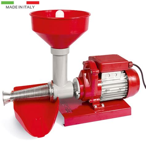 tomato tomatoes squeezer electric juicer reber electrical tre spade press