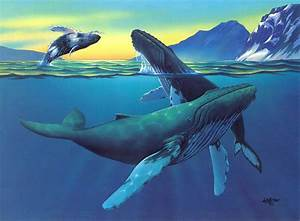 painting humpback whales watercolor - Google Search | Art ...