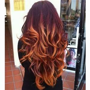 Burgundy Blonde Ombre Hair Just Medium Hair Styles Ideas