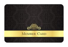 privilege card template gold and silver privilege card for member template design
