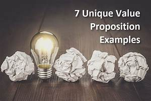 How To Make A Checklist 7 Unique Value Proposition Examples