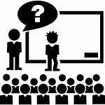 Icon Class Teacher Icons Question Flaticon Freepik