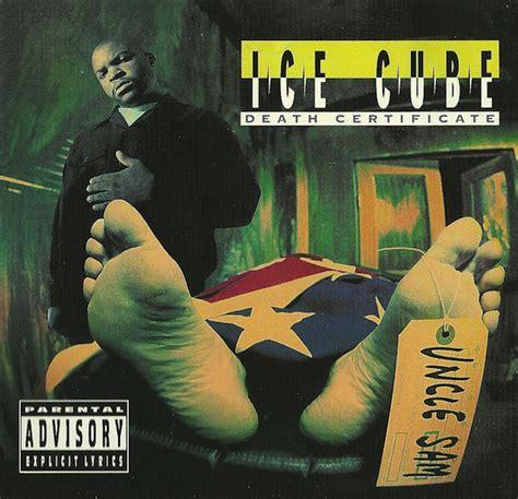 ice cube death certificate cd album discogs