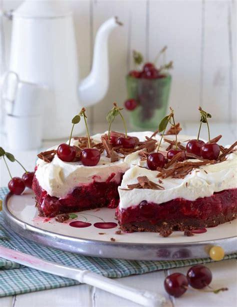 kirsch sahne kirsch sahne torte rezept essen und trinken