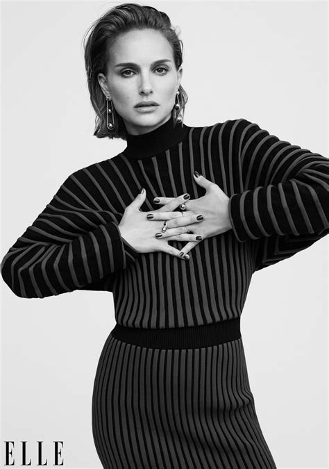 Natalie Portman Elle November Celebzz