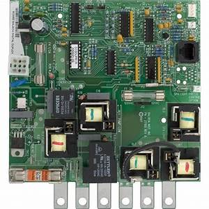 Great Lakes Gpm Spa Circuit Board 51421