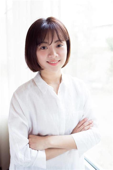 trendy korean short hairstyles  korean female