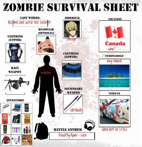 Survival Memes - zombie survival meme by brixyfire on deviantart