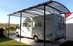 Abri Camping Car Bois : brise vue bois abri monopente pour 2 voitures un carport ~ Dailycaller-alerts.com Idées de Décoration