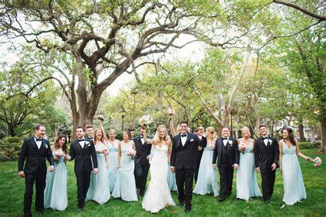 An Outdoor Wedding At Forsyth Park In Savannah, Ga